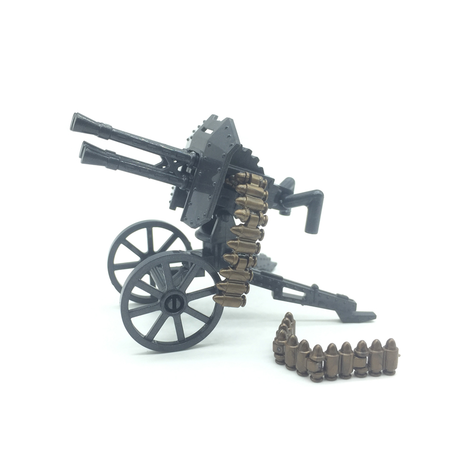 Koolfigure Military Building Block Accessories,World War 2 Artillery,Mountain Cannon,Geb ...