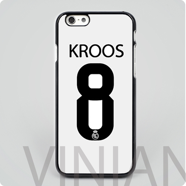 565d47eebd6c hot sale Toni Kroos 8 black hard skin plastic mobile phone cases cover  housing for iphone 4 4s 5 5s 5c 6 6 plus free shipping