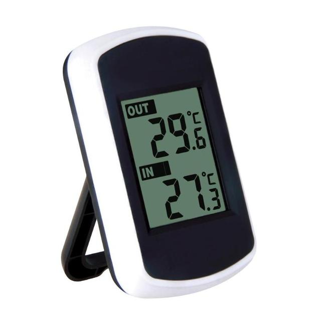 Indoor Outdoor Temperature Thermometer Ambient Weather Station 433MHz LCD Digital Wireless Humidity Sensor Display Temperature