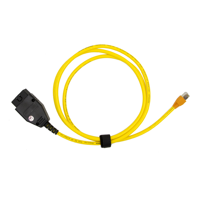 E-SYS For BMW F-series ICOM OBD2 Coding Diagnostic Cable Ethernet to OBD ESYS Data OBDII E-SYS Coding Hidden ENET Data Tool