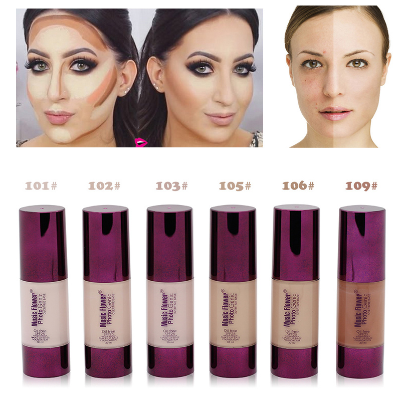 foundation for red skin