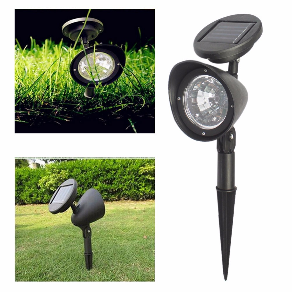 4LED Solar Spotlight Home Solar Street Light Outdoor Solar Spotlight Spotlight Garden