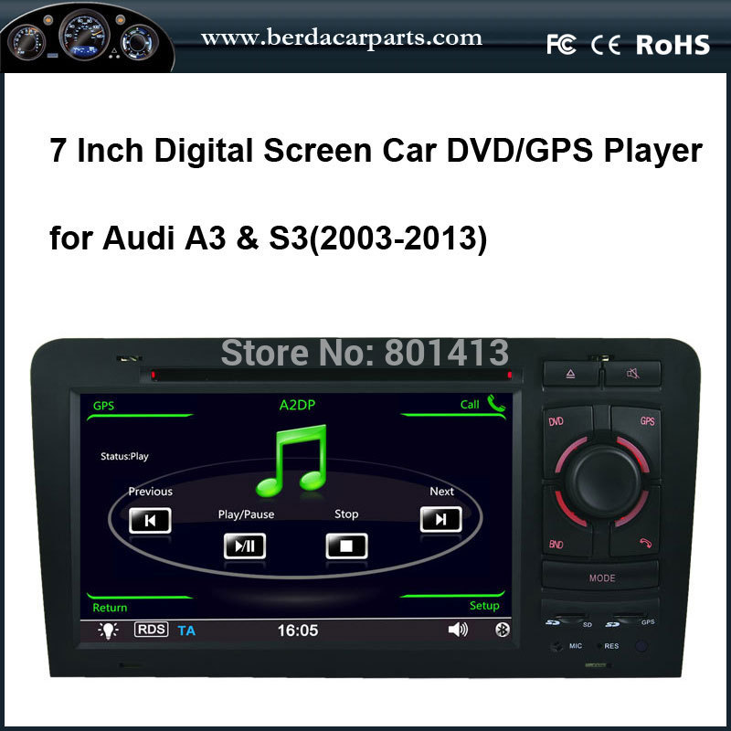 Car DVD/GPS player for Audi A3 S3 (2003-2011)