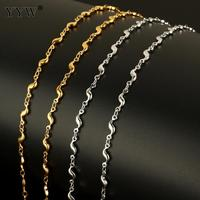 10m/Spool Stainless Steel Jewelry Chain With Plastic Spool Plated Sold By Spool For Diy Women Necklace Jewelry Making