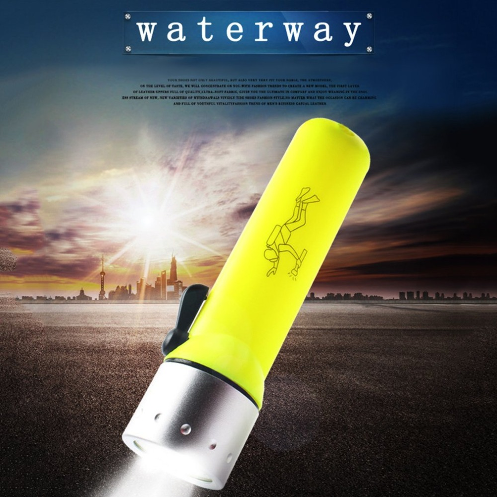 LED Diving flashlight Underwater light CREE Waterproof dive s