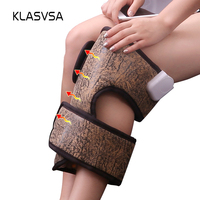KLASVSA Far Infrared Tourmaline Knee Pad Electric Heating Therapy MANFAN Anion Brace Leg Pain Support Thermal Mat Health Care