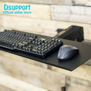 Image 5 - Keyboard Tray with VESA Mounting Hole 100x100mm for DIY Stand Working Keyboard Holder fixed with Monitor Holder Arm