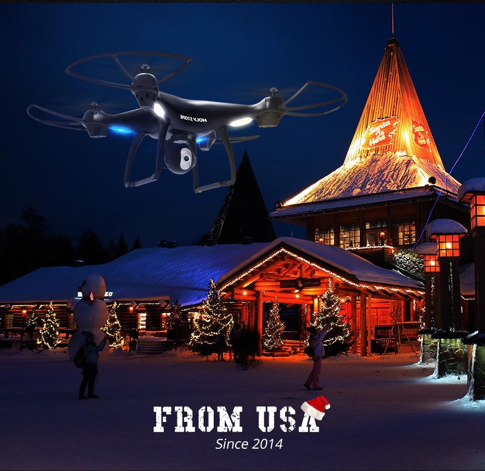 [EU USA JP Stock] Holy Stone HS100 GPS Selfie FPV Drone 500m Flight Range 2500mAh 1080P 7P Camera RC Quadcopter No Tax to EU 10