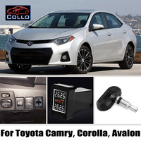 Special For TOYOTA Camry / Corolla / Avalon / Wireless Tire Pressure Monitoring System Of Internal Sensors / Embedded TPMS