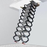 Прямые продажи с фабрики регулируемая высота складная лестница высокое качество легкий титан магниевого сплава выдвижные лестницы