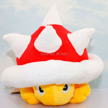 12 см аниме Super Mario Bros Санеи колючий Shell Купа Плюшевые рис Мягкие плюшевые игрушки