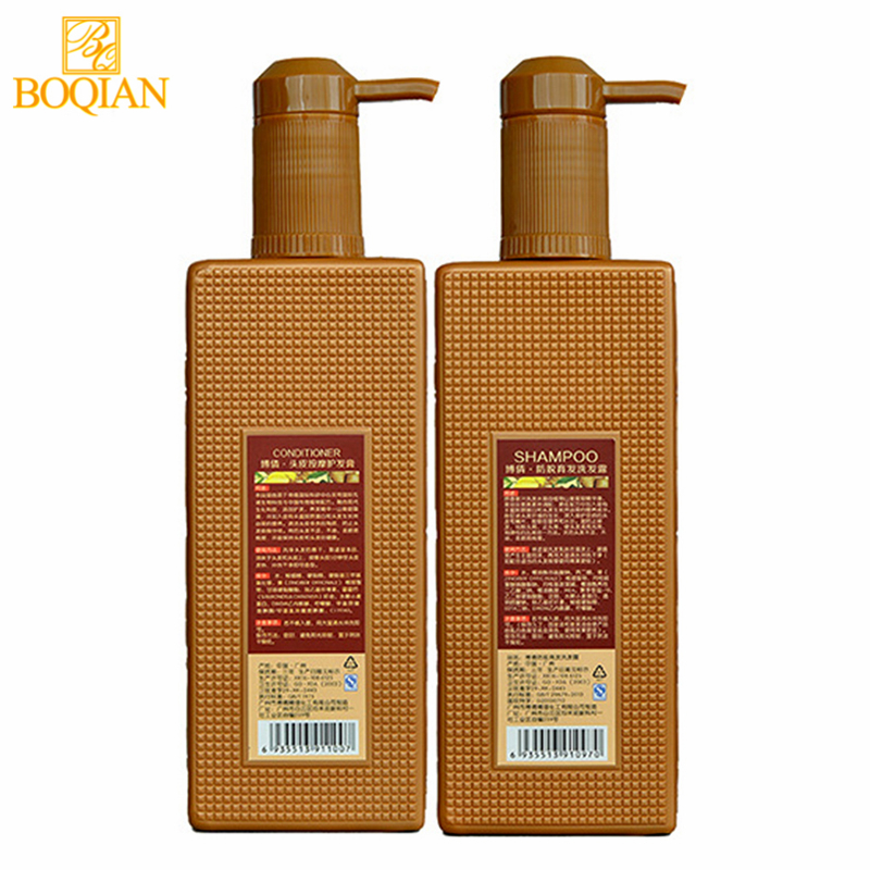 2PCS/lot BOQIAN Ginger Nourishing Shampoo Hair Scalp Massage Cream Mask Hair Care Sets Silicone Oil-Free Anti Hair Loss Products