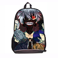 "17"" height New Fashion 2015 tokyo ghoul bag for school bag anime cartoon school bags for boys school bagpack Mochial escloar"