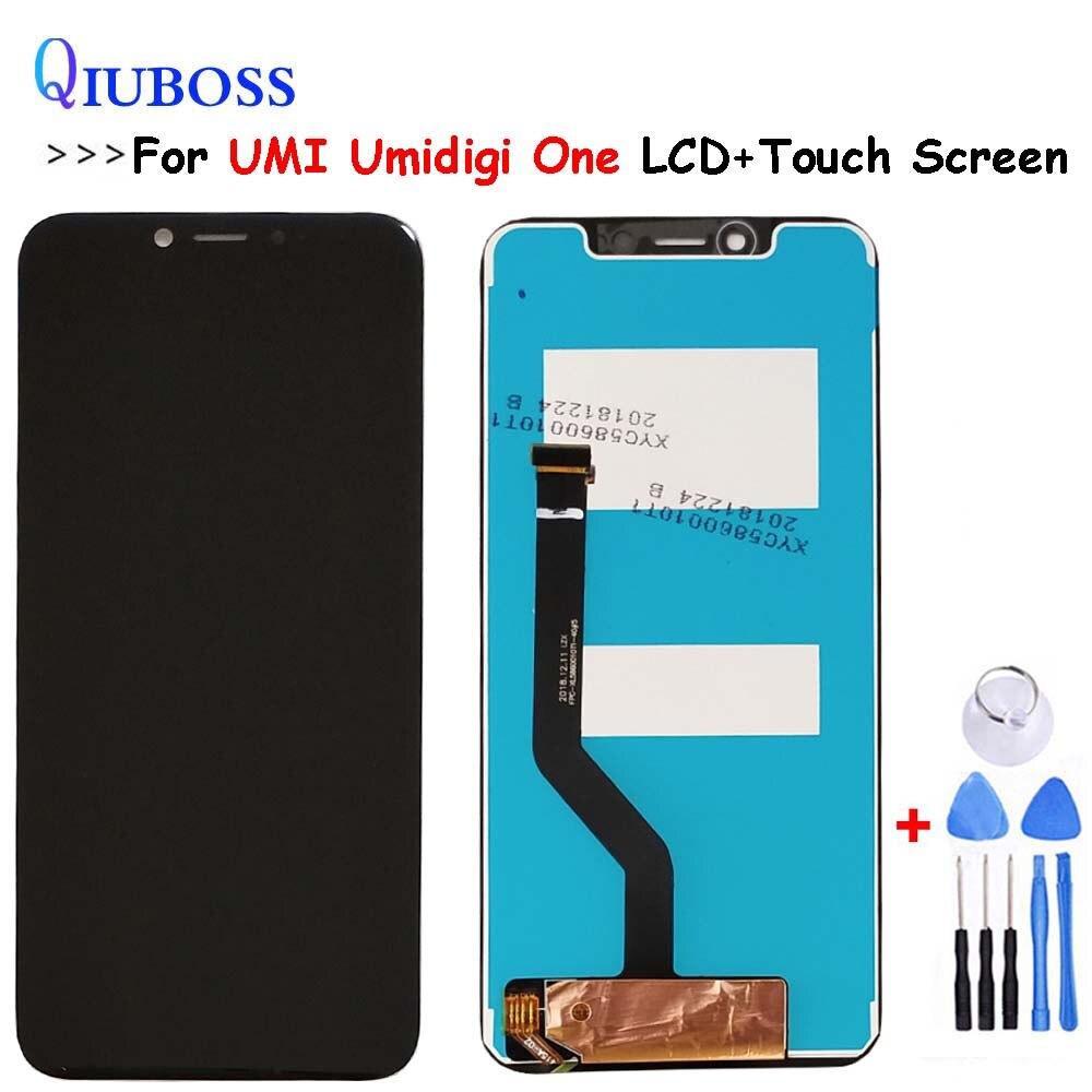 Para UMI Umidigi One Display LCD + Montagem da Tela de Toque Substituição Digitador Para UMI Umidigi One Pro Display LCD livre ferramentas