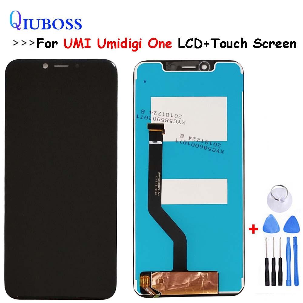 Pour UMI Umidigi un écran LCD + écran tactile montage numériseur remplacement pour UMI Umidigi One Pro LCD affichage outils gratuits