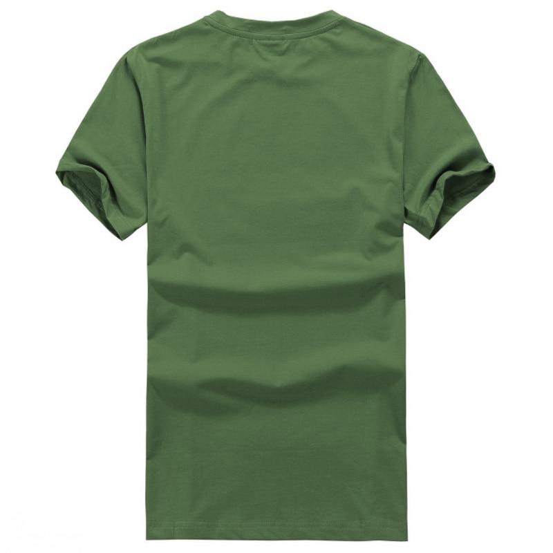 2018 Summer Casual Man T Shirt Walking Dead Dont Git Bit T-Shirt Funny Printing T Shirts Men Short Sleeve T-shirts