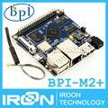 MiNi BPI-M2 + além de Banana Pi M2 + plus H3 Quad-Core 1 GB RAM 8 GB eMMC BPI M2 + plus WiFi & placa de demonstração do Bluetooth Computador de Placa Única SBC
