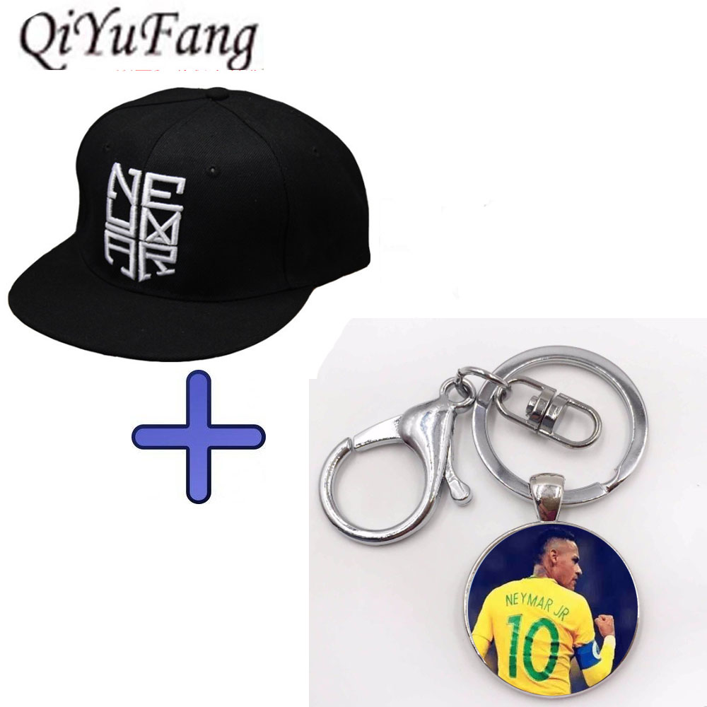 Keychain Gift Neymar JR njr Brazil Brasil Baseball Caps Football ... c3bacb85c