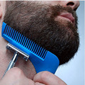New Arrival  Beard Shaping Beard Bro Tool Sex Mens Beard Hair Trimer Shape Template Cut Hair Molding Trim Template Beard