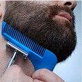Nueva Llegada Conformación de Barba Barba Bro Herramienta Sexo Hombre Barba Barba Trimer Pelo Forma Molding Ajuste de Plantilla Plantilla de Corte de Pelo