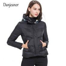 Danjeaner 2018 New Ladies Fashion Coat Winter Jacket Women Outerwear Short Wadded Female Padded Parka Womens Overcoat