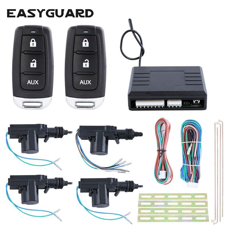 EASYGUARD Universel porte centrale système de verrouillage 1 contrôle 3 avec verrouillage à distance verrouillage déverrouillage du coffre de