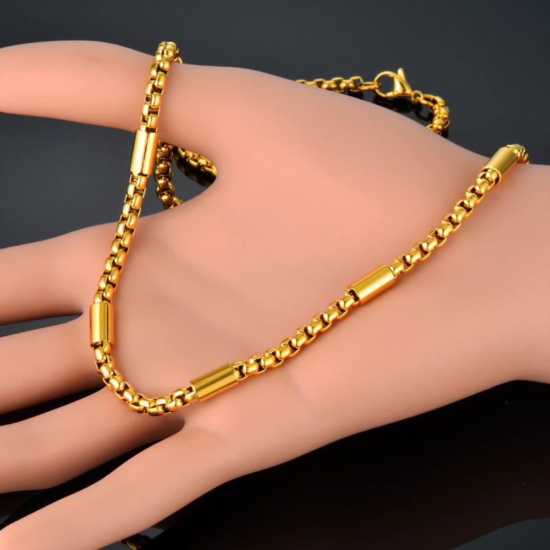 Comfortable New Gold Chain Designs For Women Pictures Inspiration ...
