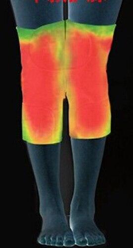 50 Paare/paket Turmalin gürtel selbsterhitzung kniepolster Magnetfeldtherapie kniebandage turmalin heizung Gürtel Massage knie - 3