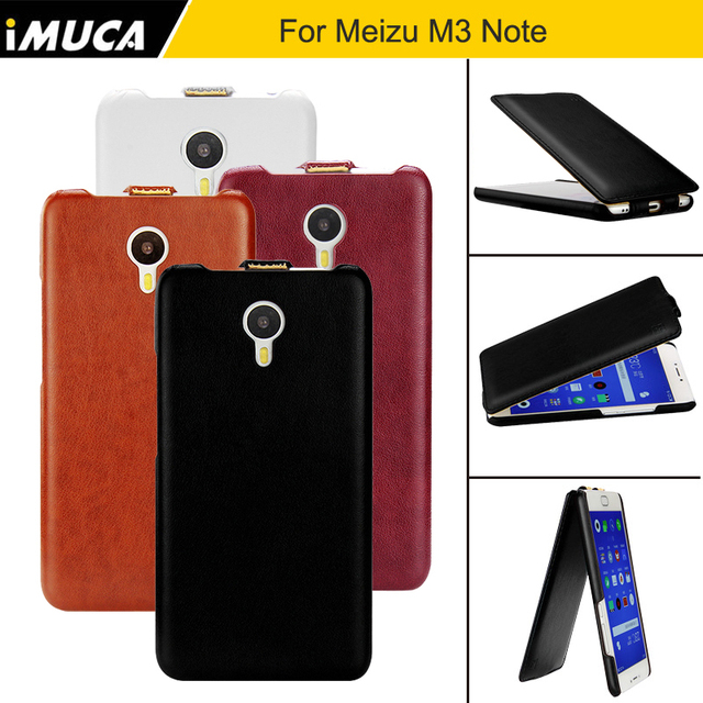 For Meizu M3 Note Case 5.5 inch Flip PU Leather Back Cover Case For Meizu M3 Note Fundas Original iMUCA Meizu M3 Note Cover Capa