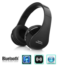 NX-8252 Professional Foldable Wireless Bluetooth Headphone Stereo Bass Effect Portable Headset