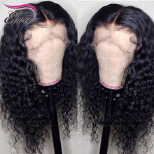 Elva Lace Front Human Hair Wigs For Black Women Curly Lace Front Wig Pre Plucked With