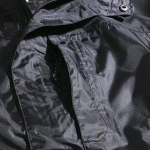 Image 4 - الرجال خارج الباب جاكيتات مقنع مقاوم للماء رقيقة الخريف حجم كبير 8XL 9XL 10XL 11XL 12XL المعتاد فضفاض جاكيتات زيبر معطف