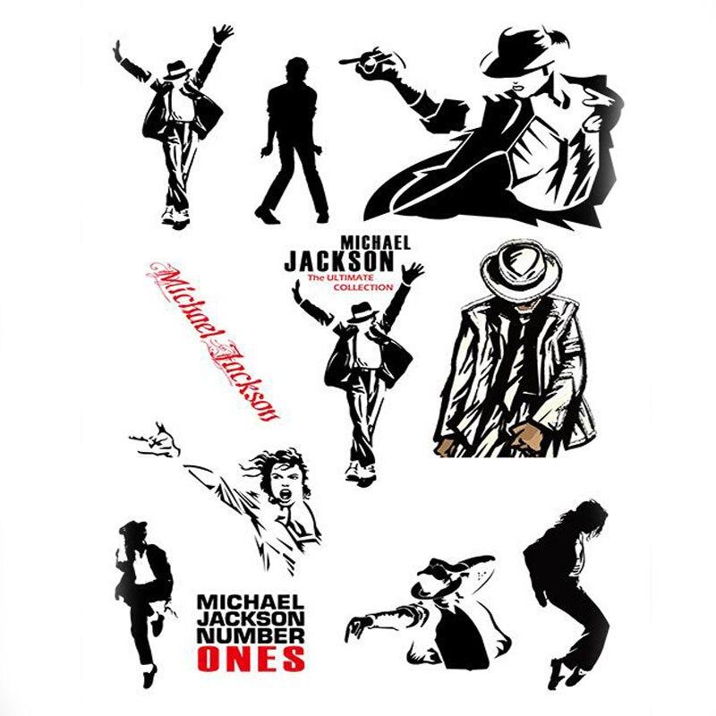 Us 165 Kreative Design Memory Michael Jackson Aufkleber Für Auto Pvc Wasserdicht Laptop Motorrad Skateboard Gepäck Aufkleber Sticker Spielzeug In