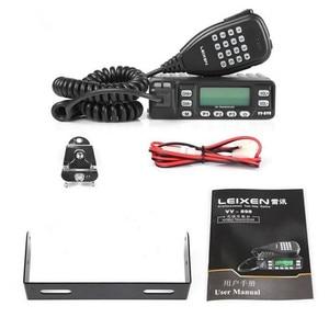 Image 1 - 100% Original LEIXEN VV 898 Car Radio Two Way Radio 10W UHF/VHF Ham Radio  Mobile Transceiver Woki Toki