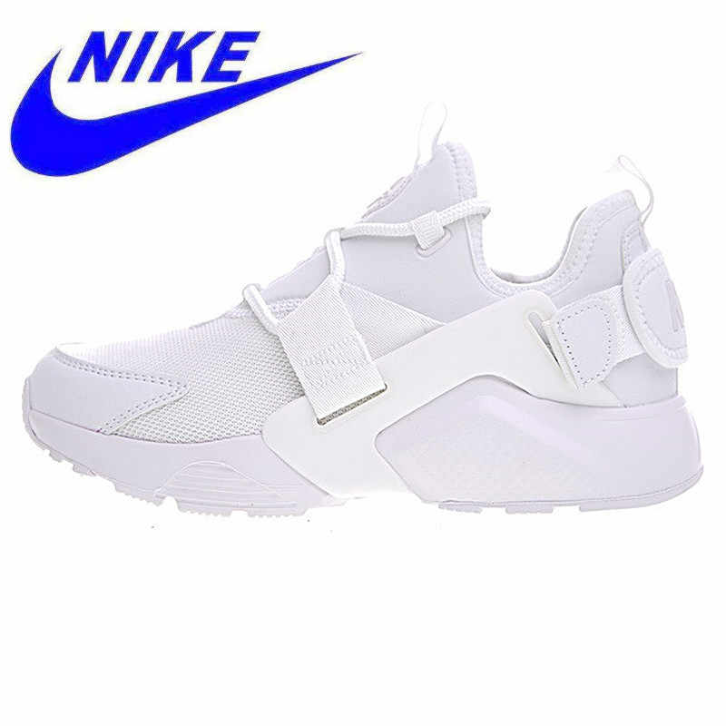 best loved 4bb05 9f5a2 New Arrival NIKE AIR HUARACHE CITY LOW Women s Running Shoes,Original Women  Air Meshe Breathable