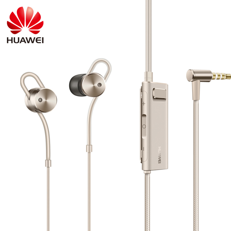 Original Huawei Honor AM185 Earphone Active Noise Cancelling 2 II with Mic and Remote In-Ear Hybrid earphone for Smartphones original huawei am180 in ear 3 5mm active noise cancellation earphones