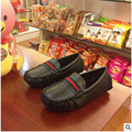 2017 spring and autumn brand children shoes male female child single shoes child Moccasins fashion leather