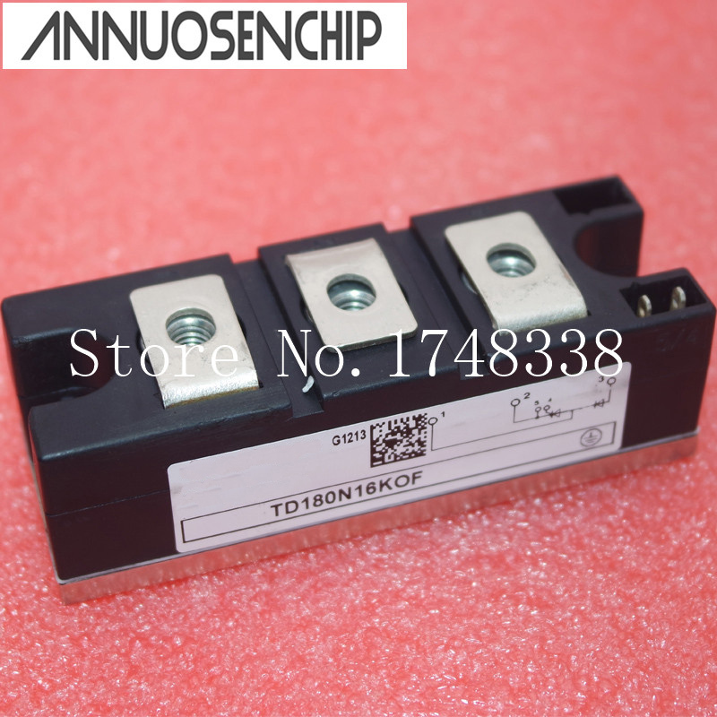 где купить TD162N16KOF TD180N16KOF thyristor power module NEW ORIGINAL дешево