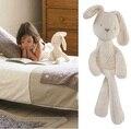 День рождения 50 см Mamamiya Papas Ребенок Кролик Комфорт Сна Куклы Плюшевые Игрушки-Милли и Борис Гладкий Послушный Кролик Спать Спокойно кукла