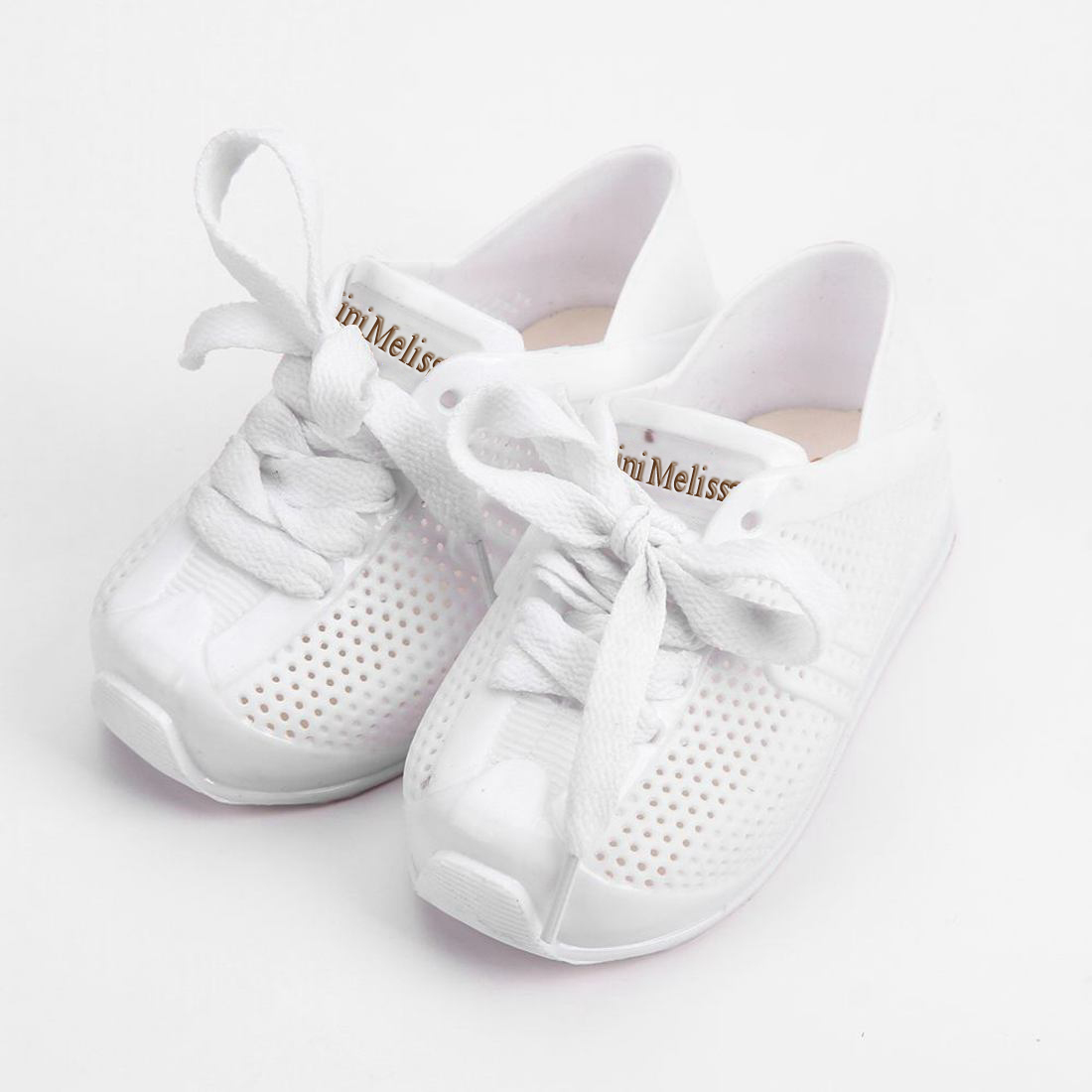 hot Mini Melissa Sports Shoes 2018 New Winter Flat Slip-on Kids Sandals Sneakers Breathable Shoes Love System Girl Keep Warmer
