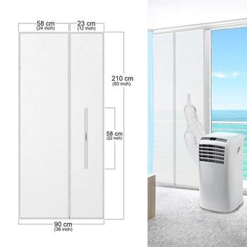 El sello de la puerta del secador de aire acondicionado funciona con...