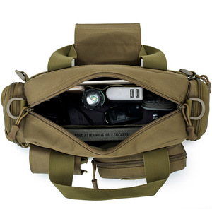 Image 3 - Naturebell nz20 New 6L Outdoor Bag Multi function Pocket Men Shoulder Slung Handbag Camouflage Tactical Storage Handbag