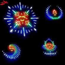 Zirrfa Новый Танец Света cubeed, светодиодные электронные diy kit