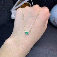 SHILOVEM 925 sterling silver real Natural Emerald sapphire ruby  pendants classic fine Jewelry women gift dz0406189agmlhl