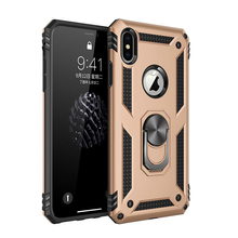 Luxury Car Magnetic Cases Finger Ring Holder Case Cover For iphone XS Max XR  6S 7 8 Plus XS Armor Shockproof Stand Hard Coque цена и фото