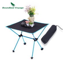 Boundless Voyage Outdoor Camping Portable Folding Table Oxford Cloth Leisure for BBQ Picnic