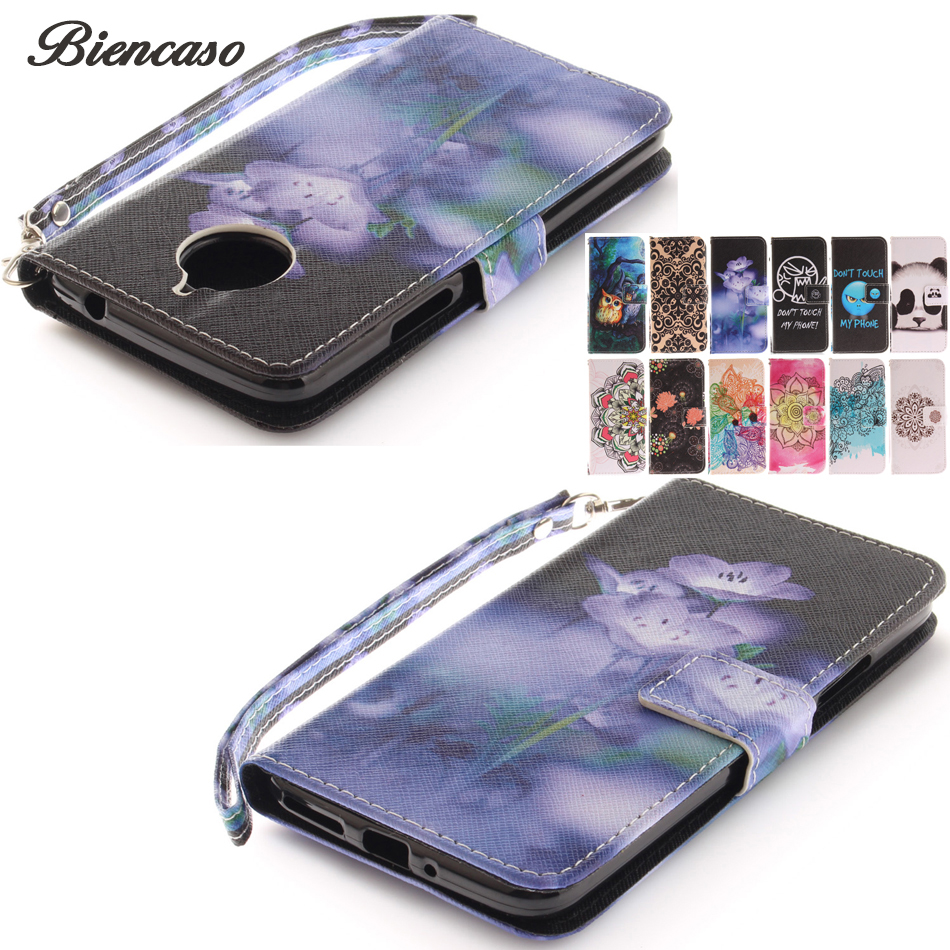 Phone Cases For Asus ZenFone 2 ZE550ML Deluxe ZE551ML 3 Max ZC520TL ZE520KL Case TPU + PU Leather Cover For Moto E4 E4 Plus B42