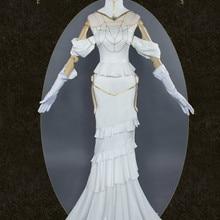 Персонаж Аниме Overlord косплей принцесса альбедо костюмы Хэллоуин сцена Новая мода геймер костюм Albedo Cos платье