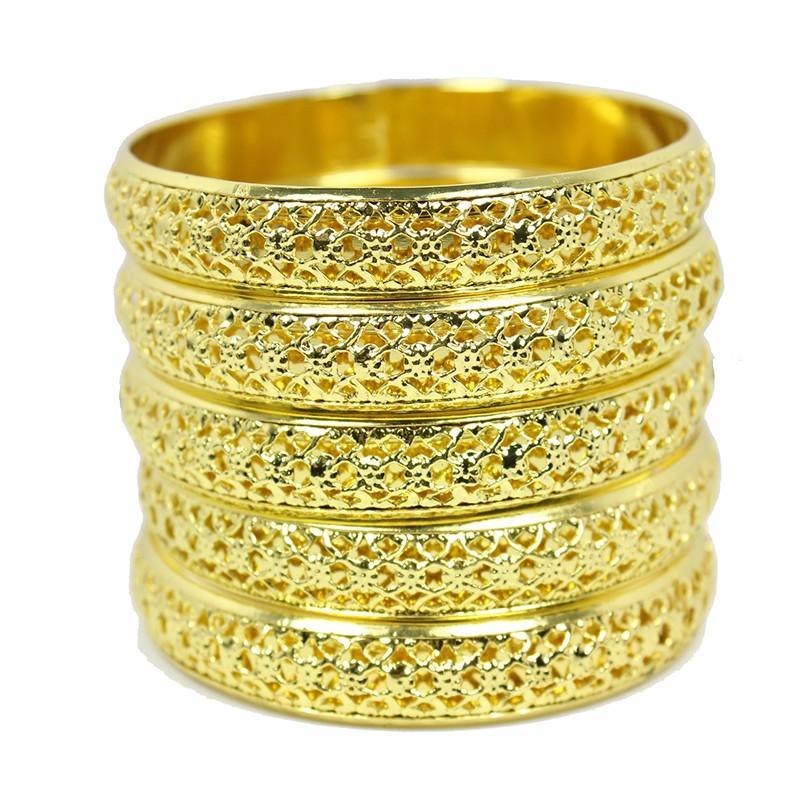 Bracelet Bangles Indian Jewelry Gold Metal Bracelets for Women ...