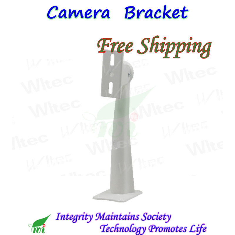 Iron Bracket Metal barcket Wall mount for CCTV Camera Free 360D Angles security project duckbilled bracket for most brand camera free shipping 10 pieces cctv accessories camera bracket metal wall mount bracket for cctv camera wall mount bracket 03